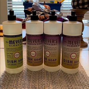 Meyers dish soap